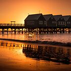 Sunset on the Jetty by Andrew Dickman