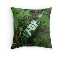 Make 7 Up Yours! Throw Pillow