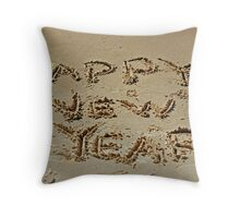 In Sand Throw Pillow
