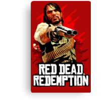 Red Dead Redemption Canvas Print