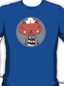 Nautical Adventures: Sailor Cat T-Shirt