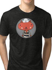 Nautical Adventures: Sailor Cat Tri-blend T-Shirt