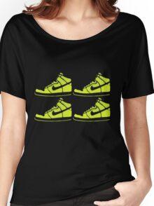 dunk stencil Women's Relaxed Fit T-Shirt
