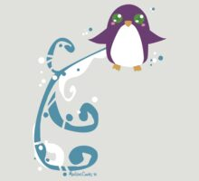 Cute Simple Penguin by Madison Cowles