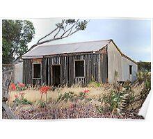 Old Settlers Cottage Poster