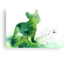 French bulldog pictures art print painting Canvas Print