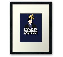 Sherlock - Drama Queen Framed Print