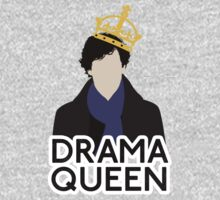 Sherlock - Drama Queen One Piece - Long Sleeve