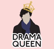 Sherlock - Drama Queen Kids Clothes