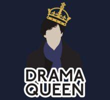 Sherlock - Drama Queen Kids Tee