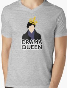 Sherlock - Drama Queen Mens V-Neck T-Shirt