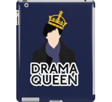 Sherlock - Drama Queen iPad Case/Skin