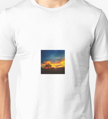 Textured Sunrise Unisex T-Shirt