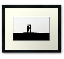 Silhouetts I Framed Print