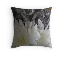 Mums Waiting by the Window Throw Pillow