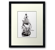 Grand Turk Frigate Framed Print