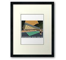 Goldstein House John Lautner Architecture Tshirt Framed Print