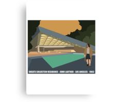 Goldstein House John Lautner Architecture Tshirt Canvas Print