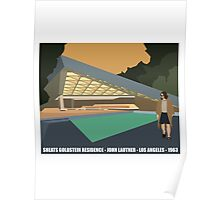 Goldstein House John Lautner Architecture Tshirt Poster