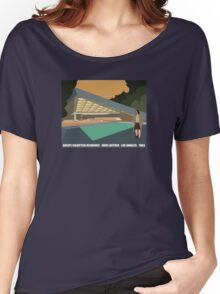 Goldstein House John Lautner Architecture Tshirt Women's Relaxed Fit T-Shirt