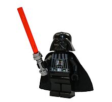 LEGO Darth Vader Photographic Print