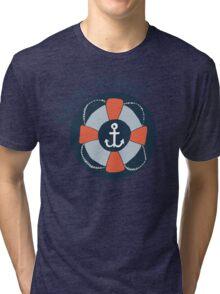 Nautical Adventures: Ahoy Mate! Tri-blend T-Shirt