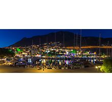 Kalkan Night Panorama Photographic Print