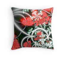 Strawberry Delight Throw Pillow