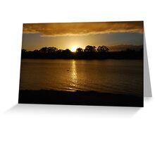 Sunrise - Mannum - South Australia Greeting Card