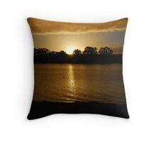 Sunrise - Mannum - South Australia Throw Pillow