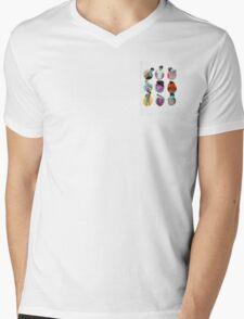 Brent Rivera Colored Dots Mens V-Neck T-Shirt