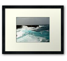 Washinton Slaagbai National Park, Bonaire Framed Print