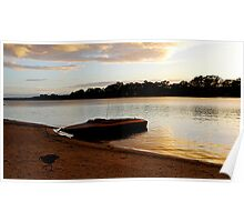 Dawn on the Murray - Mannum - South Australia Poster