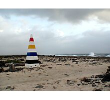 Bonaire, End with the Rainbow Photographic Print