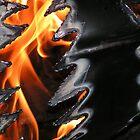 Flames by Benjamin Schade