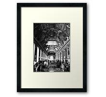 Le Musee du Louvre Framed Print