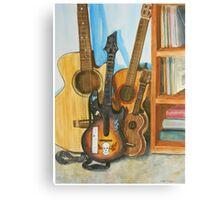 Guitar Heroes Canvas Print