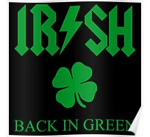 IRISH - BACK IN GREEN CLOVER Poster