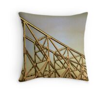 They built it high and they built it strong Throw Pillow