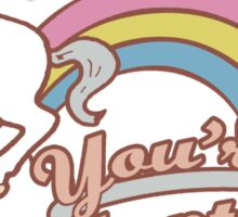 You're Adopted! Sticker