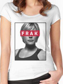 Starbuck - Frak - Battlestar Galactica Women's Fitted Scoop T-Shirt