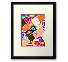 WE ARE THE ONE Framed Print