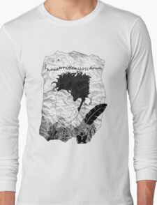 Feather and Ink Long Sleeve T-Shirt