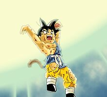 Cartoon: Goku Jr. Genkidama - Amazing Covers, Stickers etc. by TheyCallMeCCV