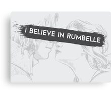 Once Upon a Time - I believe in Rumbelle Canvas Print