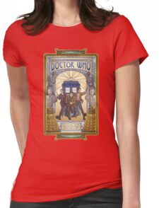 All of Time and Space Womens Fitted T-Shirt