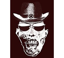 skull - sheriff Photographic Print