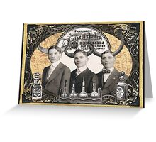 Henrard Bros. Apothecary Greeting Card