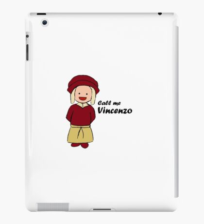 Call Me Vincenzo iPad Case/Skin