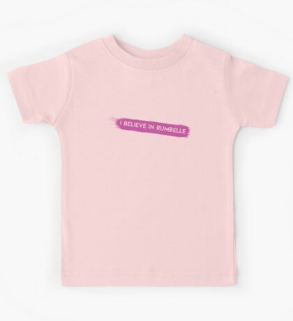 Once Upon a Time - I believe in Rumbelle Kids Tee
